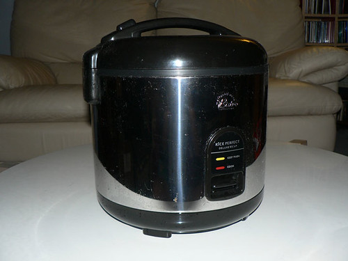 Wolfgang Puck 10 cup rice cooker $15 (originally bought it for $45)