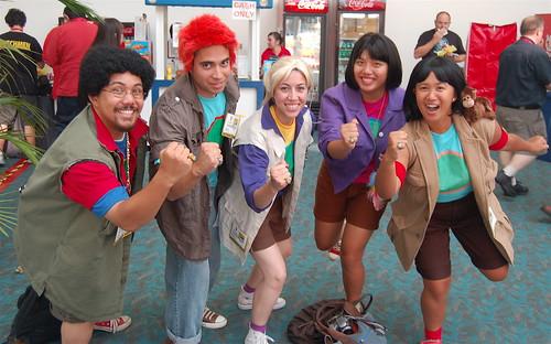 Comic Con 09: Planeteers
