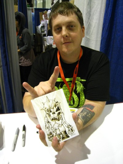 Mike Sutfin @ SDCC 2009