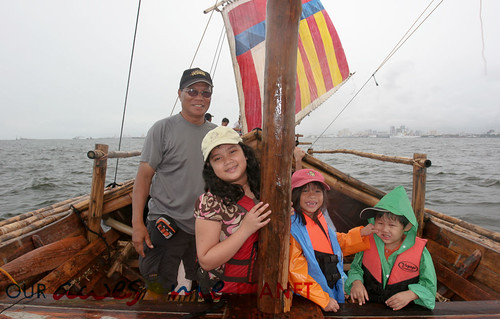 The Balangay's Test Sail-22