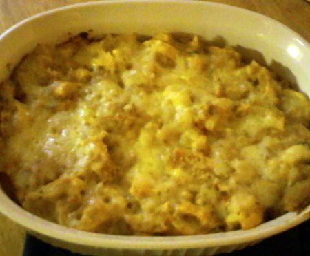 Yellow Squash and Cheese Casserole (by kwbridge)