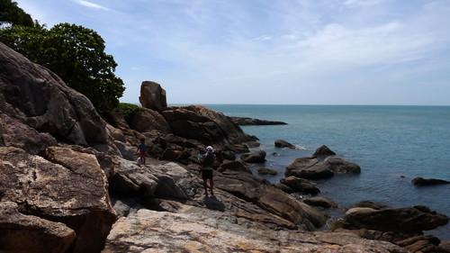 Koh Samui choengmon Beach - Koh Farn noi  コサムイ チェンモンビーチ ファンノイ島21