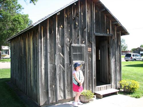 Erin at Brewster Schoolhouse