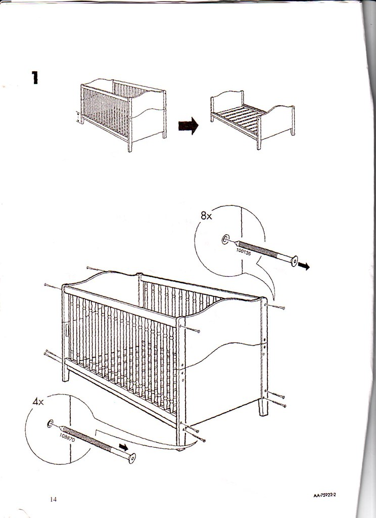 angel line crib assembly instructions