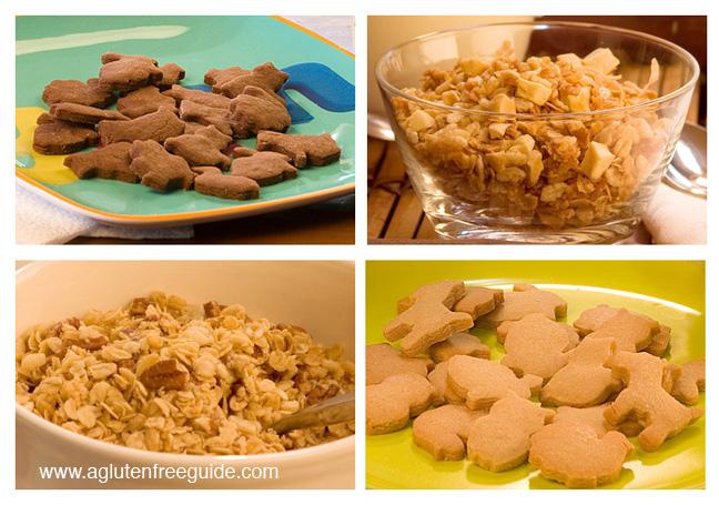 Gluten Free Cookies and Gluten Free Granola