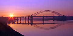 Halton Sunrise (Mr Grimesdale) Tags: reflection sunrise dawn sony tranquil mersey runcorn widnes halton rivermersey runcornbridge mrgrimsdale stevewallace dsch2 mrgrimesdale
