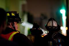 (craparu) Tags: sanfrancisco zeiss fire nikon firetruck northbeach sffd firefighter sanfranciscofiredepartment planart d700 nikond700 zf8514 fireinnorthbeach
