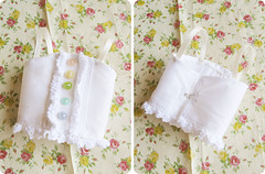 Juicy basic chemise - For MSD (Sugar & Venom) Tags: white handmade lace buttons bjd dollfie msd chemise clotehs