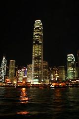 Hong Kong skyline (firepile) Tags: china hongkong victoriaharbour symphonyoflights aqualuna traditionalchinesejunk