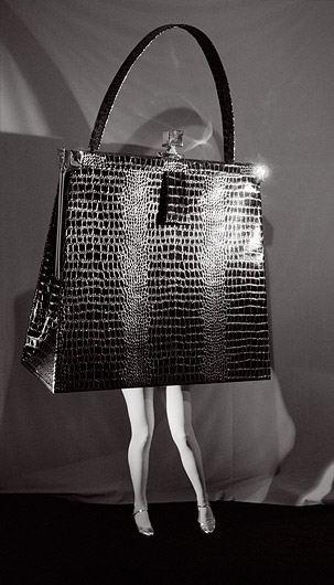 laurie simmons walking purse