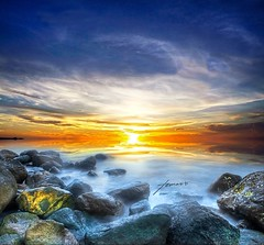 Paradise // HDR (Tomasito.!) Tags: longexposure blue sunset sea sky orange sun reflection beach beautiful yellow clouds photoshop wonderful square macintosh mac nikon rocks asia paradise earth vibrant philippines violet surreal manipulation tourist explore processing camiguin 500 conceptual frontpage hdr touristspot pilipinas cs4 tomasito d90 cagayandeoro southestasia touristdestination nikond90 beautifulhdr pinoykodakero vertorama mygearandme mygearandmepremium mygearandmebronze mygearandmesilver mygearandmegold mygearandmeplatinum mygearandmediamond