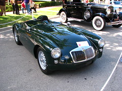 1959 MGA Twin-Cam (geognerd) Tags: classic car illinois antique 2009genevaconcoursdelegance 1959mgatwincam