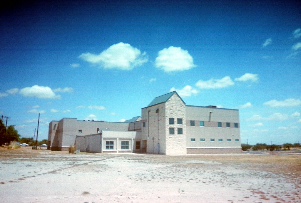 Building on Campus of Pflugerville High School
