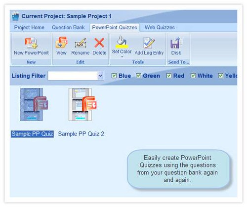Atrixware PowerPoint Quiz Maker