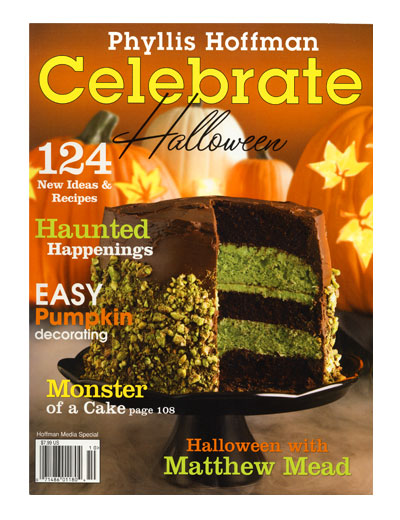 celebrate halloween cover - Halloween Magazines