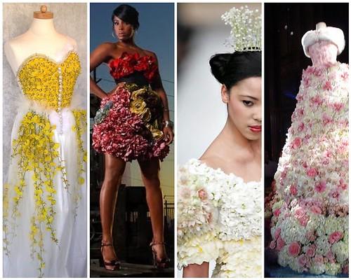 Trendy and Unique Wedding Dress 2010/2011