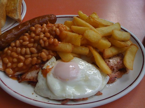Eggs, Chips and Beans