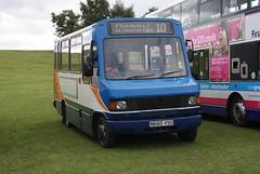 Weatherfield Wanderer (BiggestWoo) Tags: park lake bus coach lorry heaton heatonpark greatermanchestermuseumoftransport translancsrally