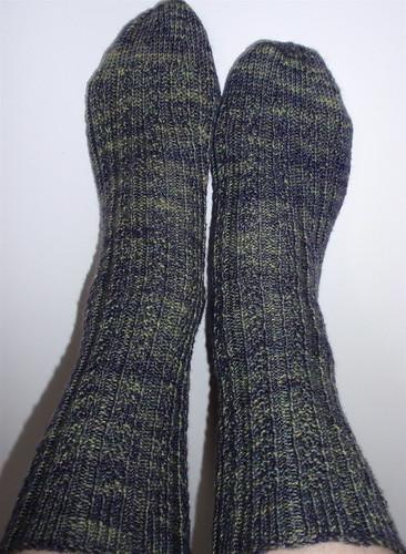 Lichen socks 3