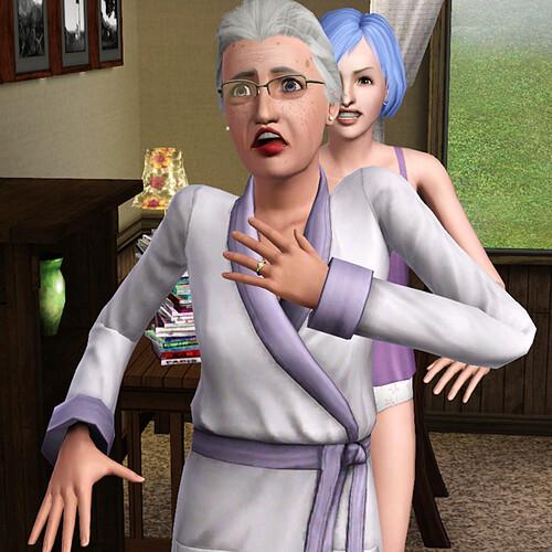 Scaring your elderly landlady seems like a bad idea