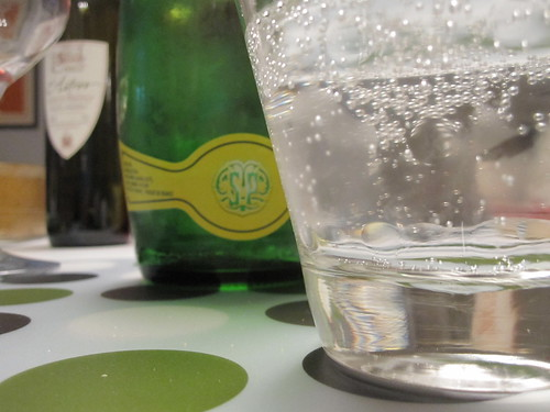 Post-meal Perrier