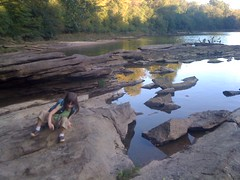 Sophie on the Rocks