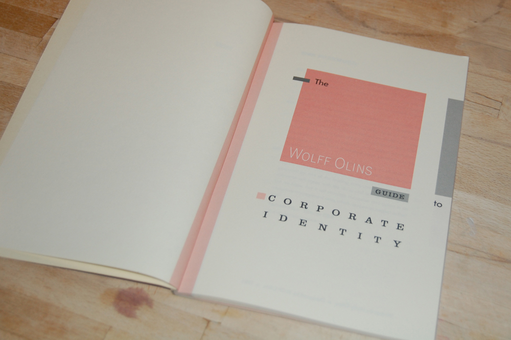 The Wolff Olins Guide to Corporate Identity