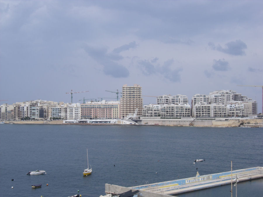 And now for something completely different - Sliema