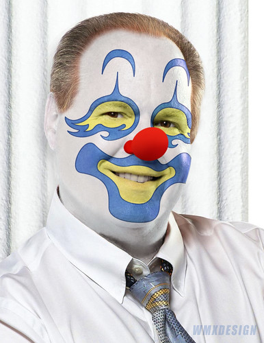 Rush Limbaugh (R- Paid Liar):: Obstructionist Republican Clown by WMxdesign.