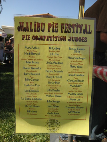 pie festival judges