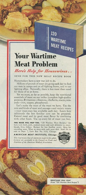 Your Wartime Meat Problem