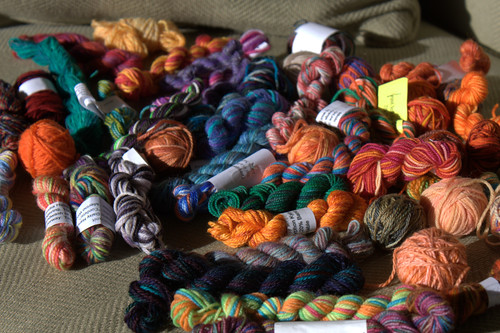 spoils of yarn swaps