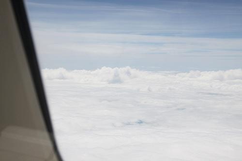 華航商務艙。阿姆斯特丹-曼谷-台北-091014