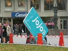 Jojo från ovan Stortorget Malmö (SPINNING TREE) Tags: jojo nya skånetrafikens betalsystem