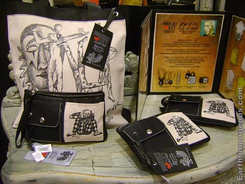 Freeway Ang Kiukok tote bag and pouches
