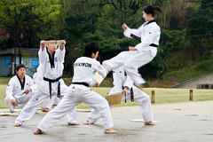 Kukkiwon Taekwondo Demonstraton Team South Korea