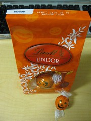 Lindt Halloween Chocolate