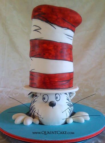 cat in a hat cake. Cat In the Hat Cake - Dr. Seuss