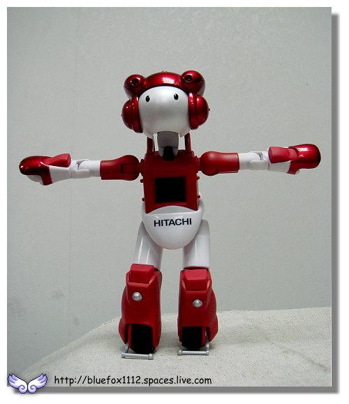 091018日立生活機器人EMIEW電子鐘05