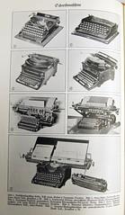 """""""Schreibmaschine"""" im Großen Herder (1935)"""