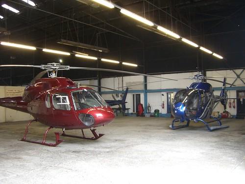 Garaje de helicópteros