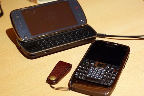 N97 and E71
