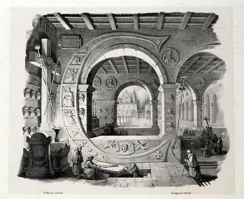003-Letra C-Alfabeto pittorico- Antonio Basoli 1839-© Accademia di Belle Arti di Bologna