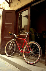 FIDUSA (Antonis Liokouras) Tags: travel vacation film bike bicycle islands nikon europe photos bikes greece analogue rhodes nikonf5 dodekanisos geekislands rodesisland