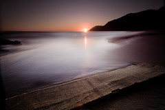 Sunset on Wood (www.Riccithedude.com) Tags: sunset espaa spain nikon calblanque longexpossure nd110 d700 cokinz121s