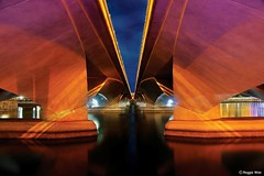 F1 Track. (Reggie Wan) Tags: bridge night singapore southeastasia f1 esplanade soe flyover singaporeriver marinabay f1track sonya700 reggiewan