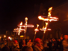 Yes, they really do burn crosses