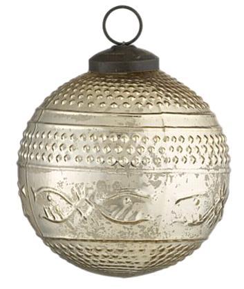 crate and barrel pindot ornament