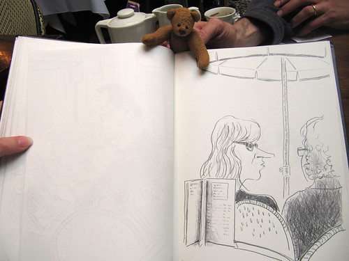 BB and Ricks sketchbook