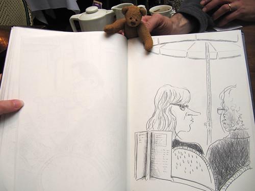 BB and Ricks sketchbook